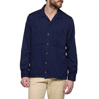 Gant Rugger Dark Blue Slub Shirt Jacket