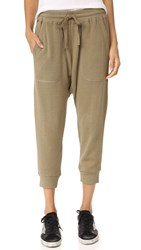 R 13 Surplus Knit Harem Pants Surplus Olive