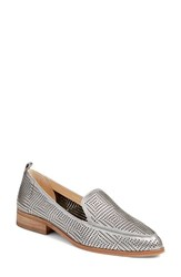 Vince Camuto Women's 'Kade' Cutout Loafer Radient Silver
