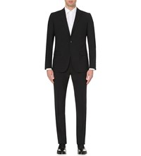Reiss Single Breasted Regular Fit Suit Black