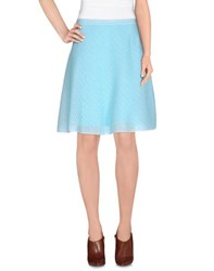 Christian Dior Dior Skirts Knee Length Skirts Women Turquoise