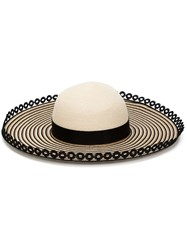 Eugenia Kim 'Honey' Wide Brim Hat White