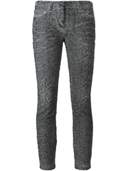 Faith Connexion Cloque Skinny Trousers