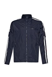 French Connection Casual Full Zip Bomber Jacket Blue
