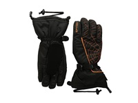 Spyder Overweb Gore Tex Ski Glove Black Bright Orange Over Mits Gloves