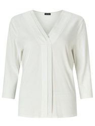 Gerry Weber Pleat Detail Top Off White