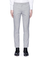 Topman Skinny Fit Houndstooth Pants Multi Colour