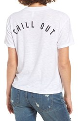 Michelle By Comune Women's Augsburg Chill Out Burnout Tee