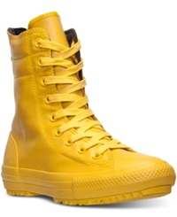 Converse Women's Chuck Taylor High Rise Boots From Finish Line Yellow Bird Yellow Bird