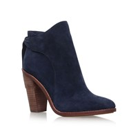 Vince Camuto Linford High Heel Ankle Boots Navy