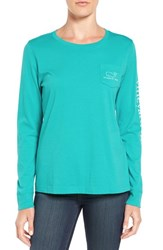 Vineyard Vines Women's Whale Graphic Long Sleeve Tee