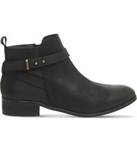 Office Instinct Leather Ankle Boots Black Leather