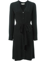 Vanessa Bruno Belted Shirt Dress Black