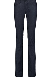 Dolce And Gabbana Low Rise Straight Leg Jeans Blue