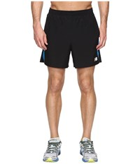 New Balance Accelerate 5 Shorts Black Barracuda Men's Shorts