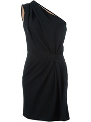 Dsquared2 One Shoulder Dress Black