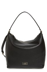 Kate Spade New York 'Prospect Place Kaia' Leather Hobo Black