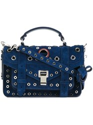 Proenza Schouler Tiny 'Ps1' Satchel Blue