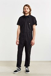 Dickies Basic Short Sleeve Coverall Black