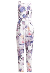 Finders Keepers Young Spirit Jumpsuit Floral Light White Multicoloured