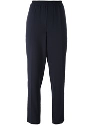Libertine Libertine 'Mural' Straight Trousers Blue