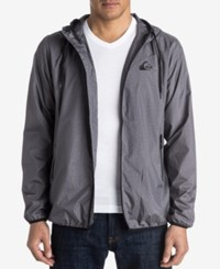 Quiksilver Men's Markson Hooded Jacket Ktfh Dark