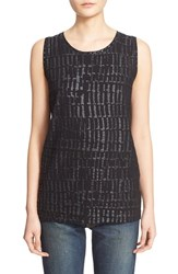 Tomas Maier Women's 'Urban Glitter' Sleeveless Top