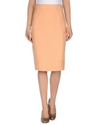 Mine 3 4 Length Skirts Orange