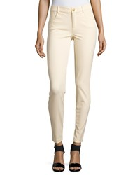 Minnie Rose Skinny Stretch Twill Ankle Pants Pearl Jam
