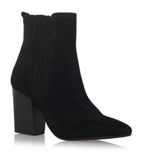 Carvela Kurt Geiger Slate Suede Ankle Boots Female Black