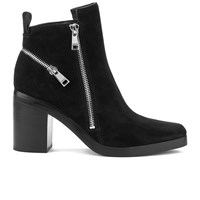 Kenzo Women's Totem Heeled Ankle Boots Black