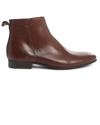 Menlook Label Tiki Brown Leather Boots
