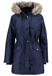 Oasis Lux Parka Navy Dark Blue