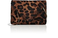 Dries Van Noten Women's Envelope Mini Clutch Brown