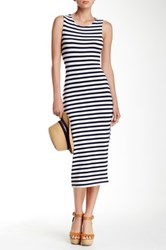 Rdi Stripe Tube Dress Petite Blue