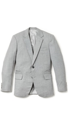 Brooklyn Tailors Handmade Super 120S Wool Twill Jacket