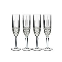 Waterford Marquis Brady Champagne Flutes Set Of 4