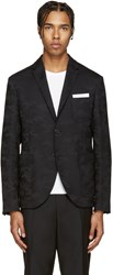 Neil Barrett Black Camo Blazer