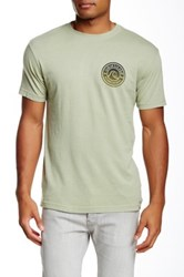 Quiksilver Original Mtz Modern Fit Graphic Tee Green