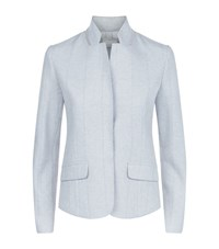 Fabiana Filippi Chain Detail Jacket Female Light Grey