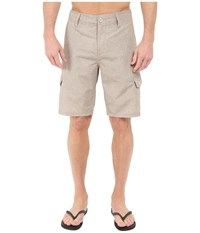 Oakley Resonance Cargo Hybrid Shorts Wood Grey Men's Shorts Khaki