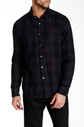 Gilded Age Long Sleeve Plaid Shirt Gray