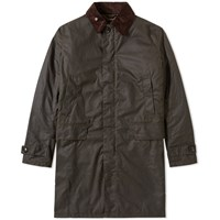 Barbour Nairn Wax Jacket Green
