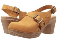 Calou Stockholm Astrid Mustard Women's Shoes Yellow