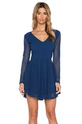6 Shore Road Starry Lace Dress Blue