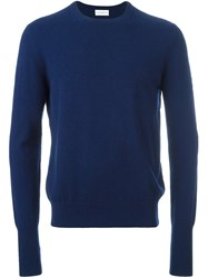 Ballantyne Crew Neck Jumper Blue