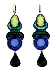 Dori Csengeri Jewellery Earrings Women Blue