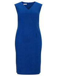 Windsmoor Tencel Dress Blue