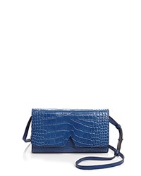 Vince Signature Croc Embossed Crossbody