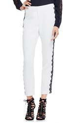 Women's Vince Camuto Lace Trim Skinny Ankle Pants